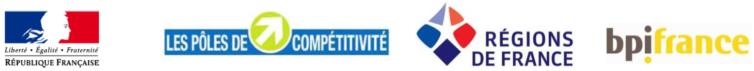 FUI25 AUTORITES FINANCEURS POLES DE COMPETITIVITE BPIFRANC