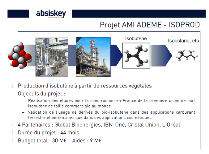 ISOPROD_GLOBAL BIOENERGIES_ADEME