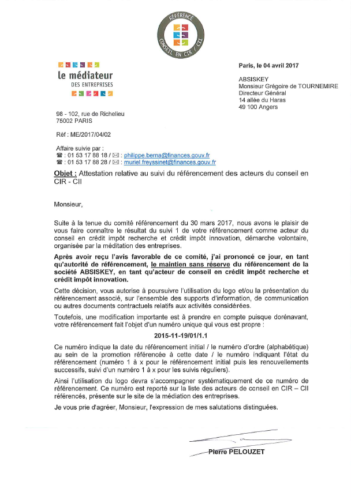170404_COURRIER_MAINTIEN_REFERENCEMENT_MEDIATION_EVALUATION-1_GDT_ABSISKEY