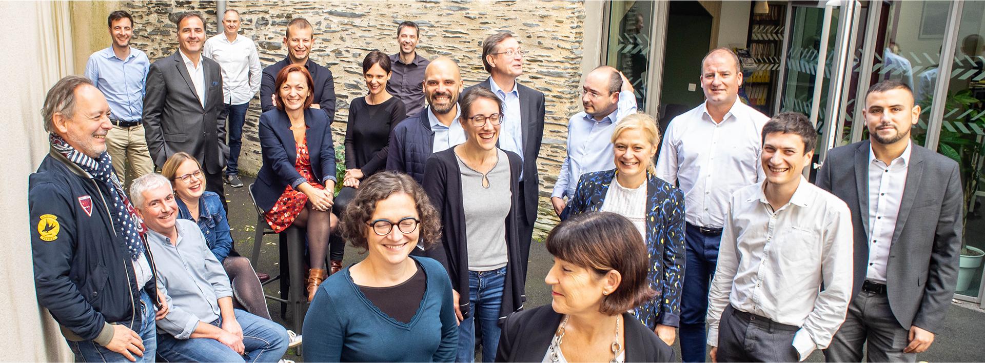 Toute l'équipe en conseil en financement de l'innovation de l'agence Absiskey d'Angers (49)