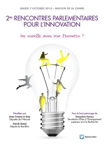 2e rencontres parlementaires pour l'innovation