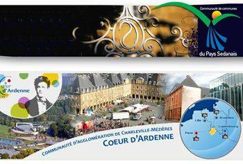 Projet de territoire de la CC du Pays Sedanais avec la CA de Charleville-Mézières.
