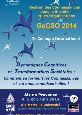 Absiskey participe au colloque de la GeCSO 2014