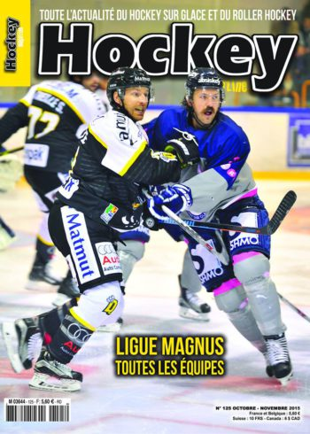 Absiskey en Une de Hockey Magazine !