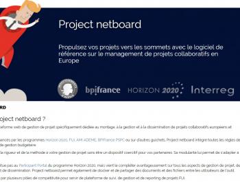 Project netboard prend son envol avec un nouveau site web